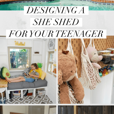 Designing a She Shed for Your Teenager