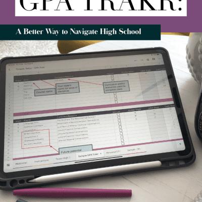 The GPA Trakr : A Better Way to Navigate High School Credits